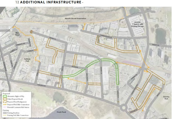 Additional infrastructure included in the planning study hasn't come to fruition.