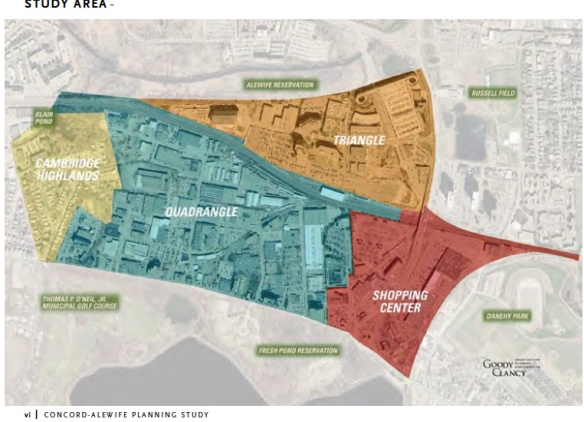 Alewife study areas