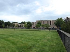 Callanan Field behind Tobin