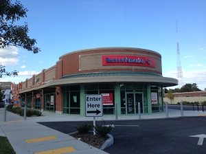 Hard to miss there's a BofA at 355 Fresh Pond Parkway