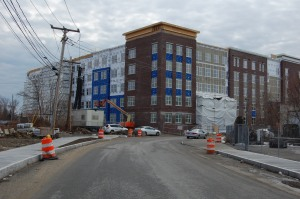 389 units were constructed  on Fawcett St